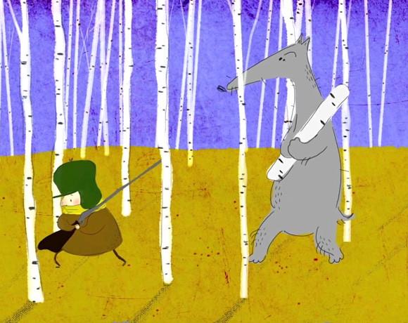 Iwan und der Wolf
